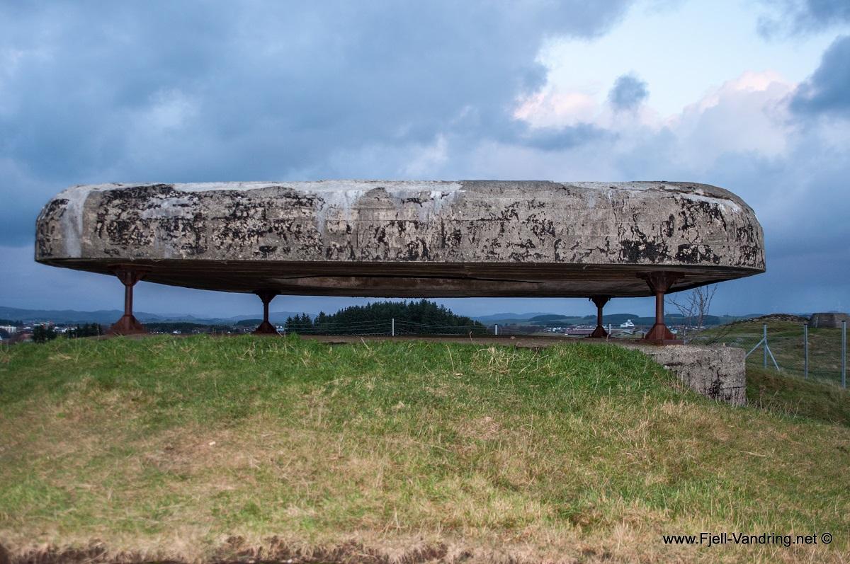 Hanabergsmarka - Massive installasjonene etter 2.verdenskrig