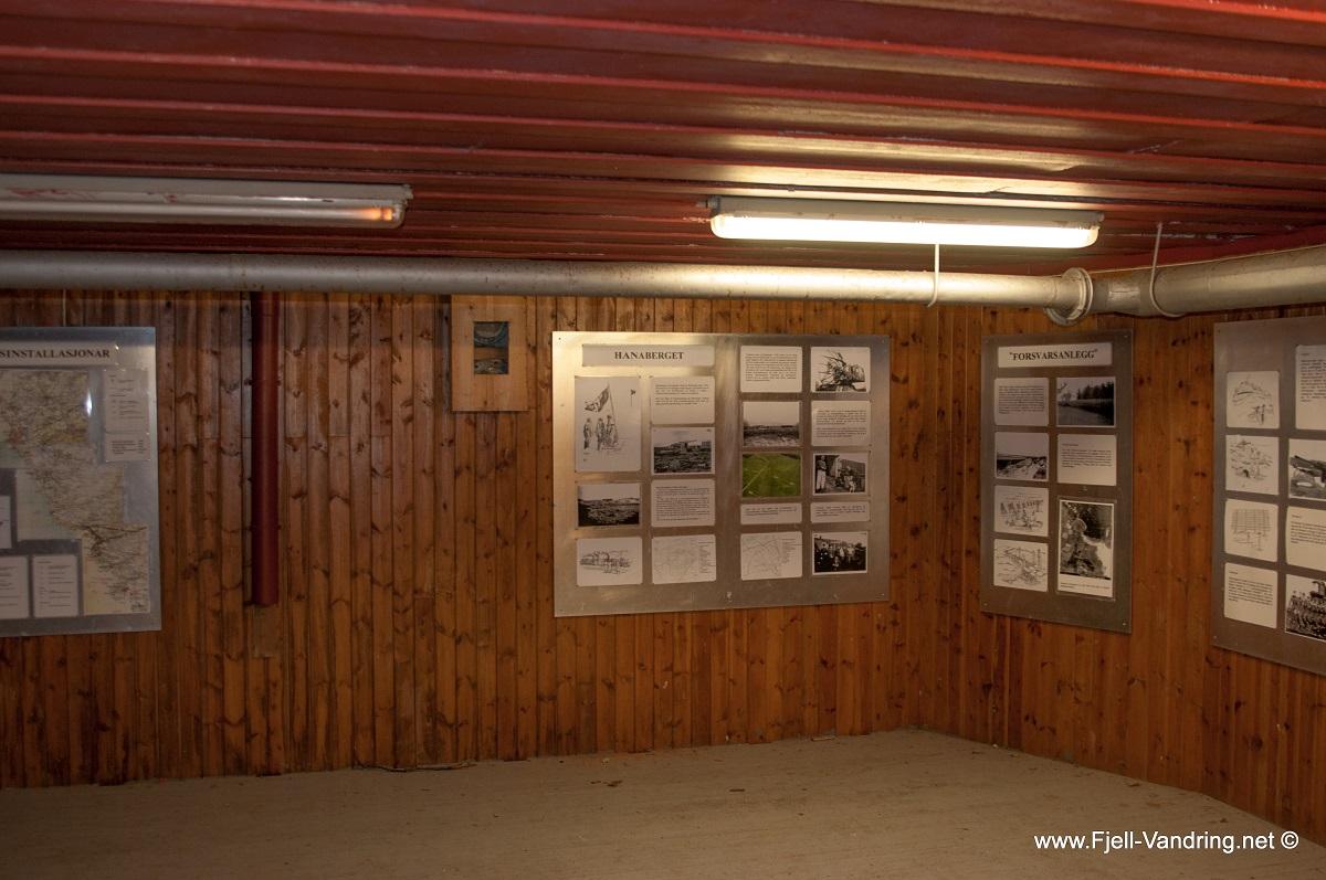 Hanabergsmarka - Inne i bunkeren