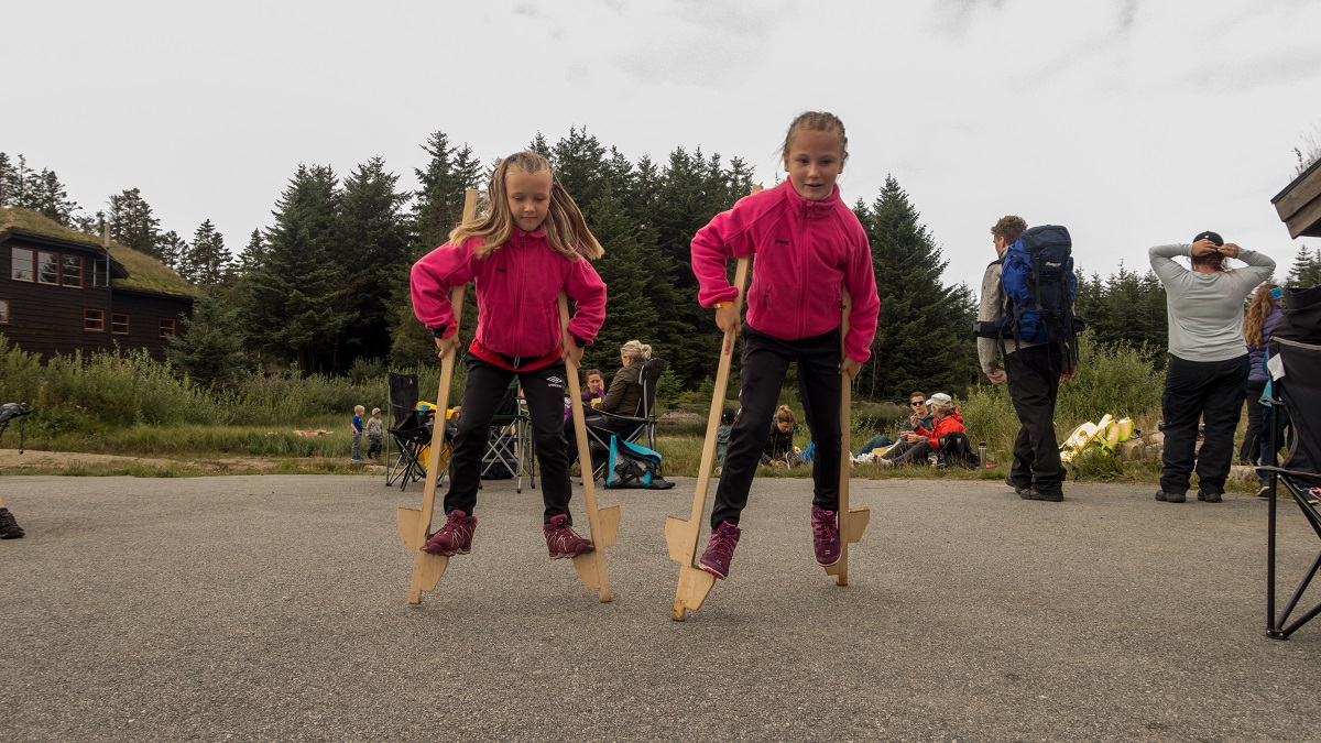 Familiearrangement August 2018 - Lek og aktiviteter ved Holmavatnet (Gjennomført)