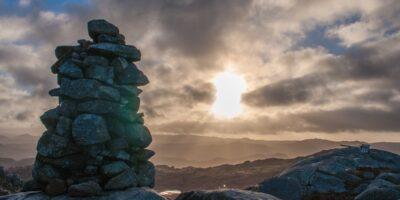 Nonsfjedlet - Fottur i Eidlandsfjellet
