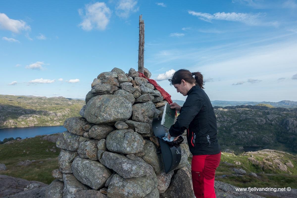Ramnafjellet - Topptur fra Åsen