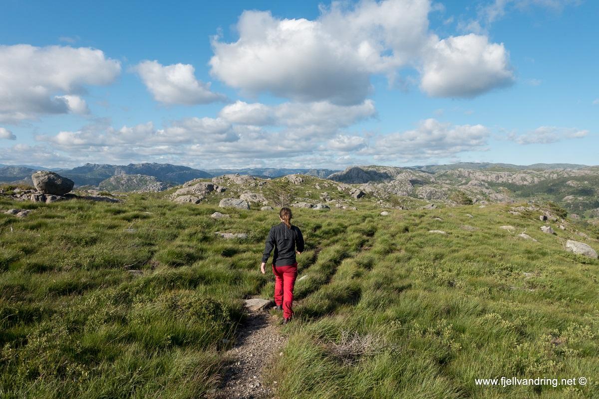 Ramnafjellet fra Litle Efteland