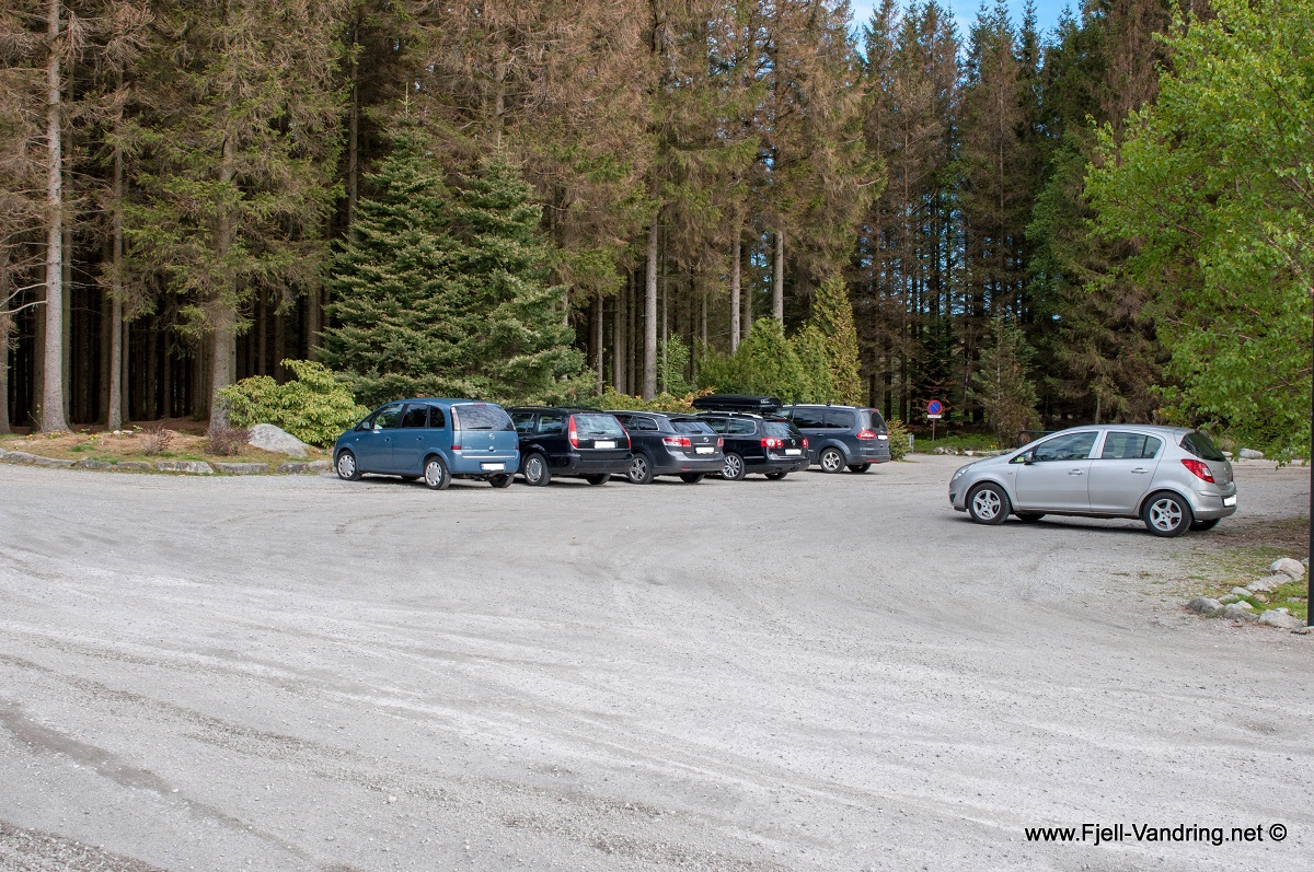 Rogaland Arboret - Parkering