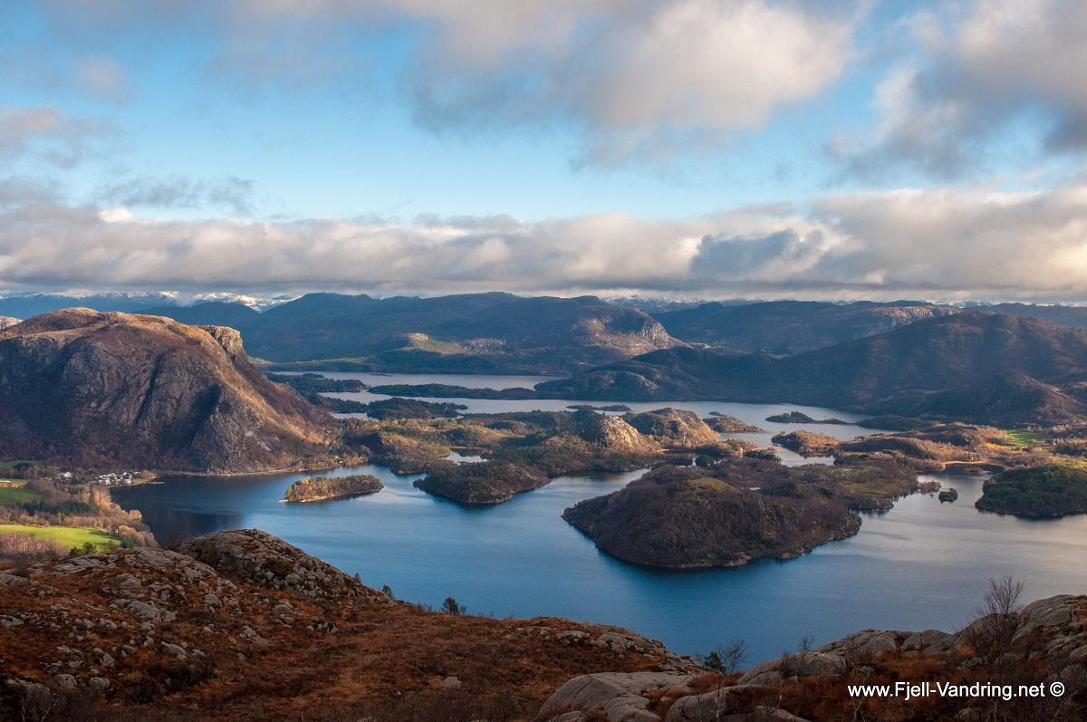 Bjørndalsfjellet og Lutsifjellet