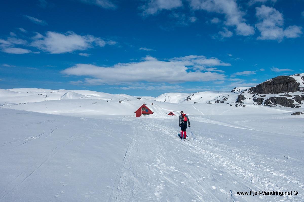Sandvatnet - Skitur fra Lortabu