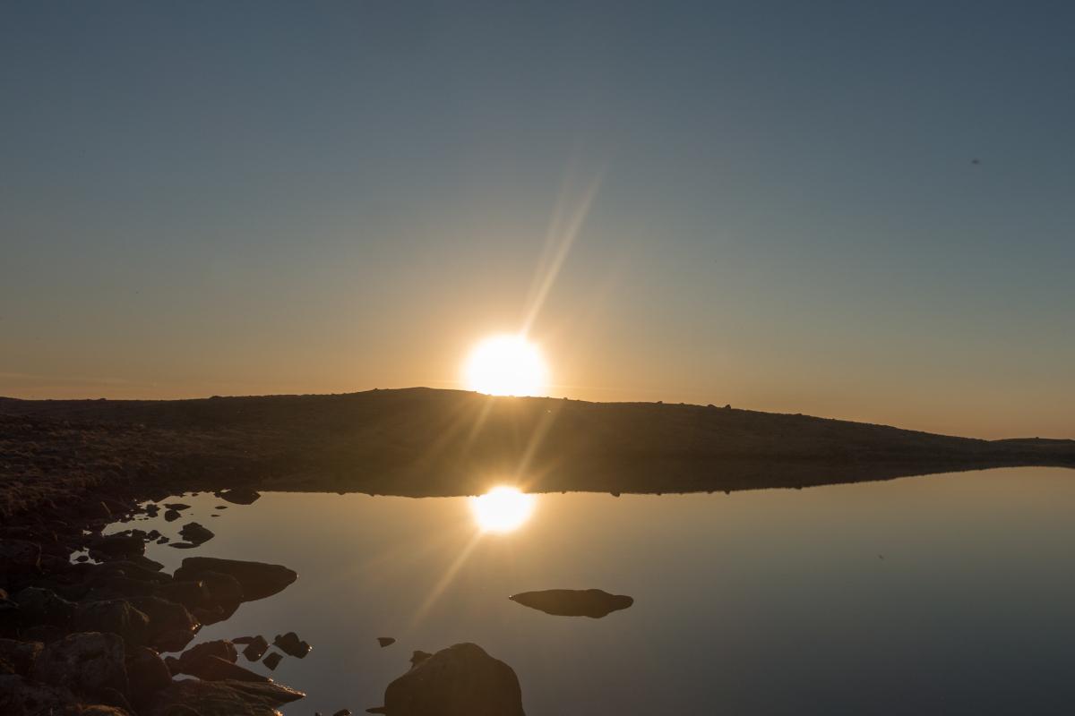 Steinkjerringa - Vandavatnet
