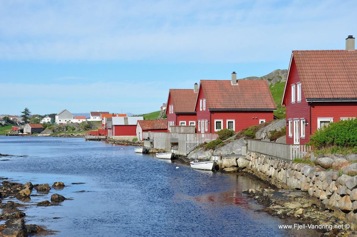 Eigerøy fyr - Nydelig kystlandskap