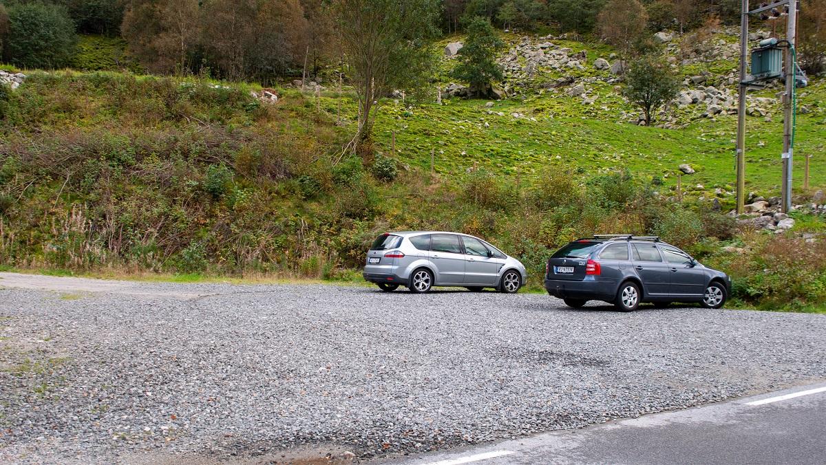 Turstart & Parkering - Molaug