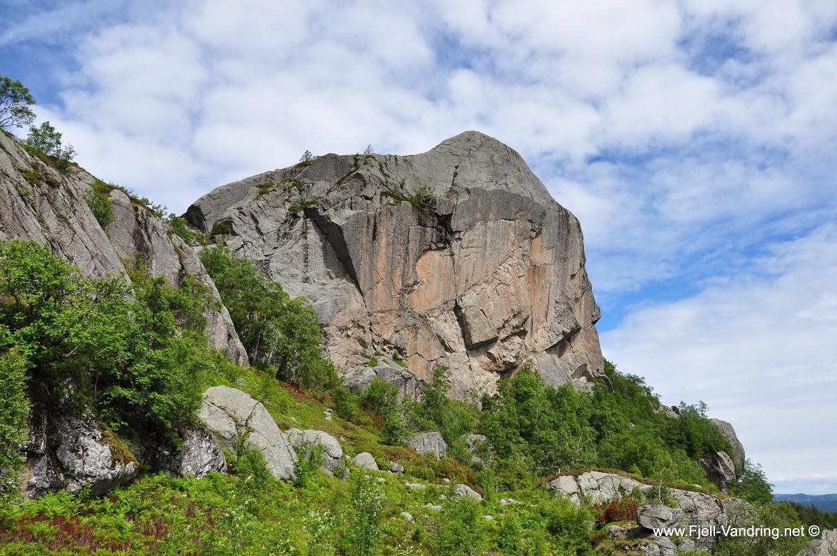 Gullbergknuden - Topptur i Lund kommune