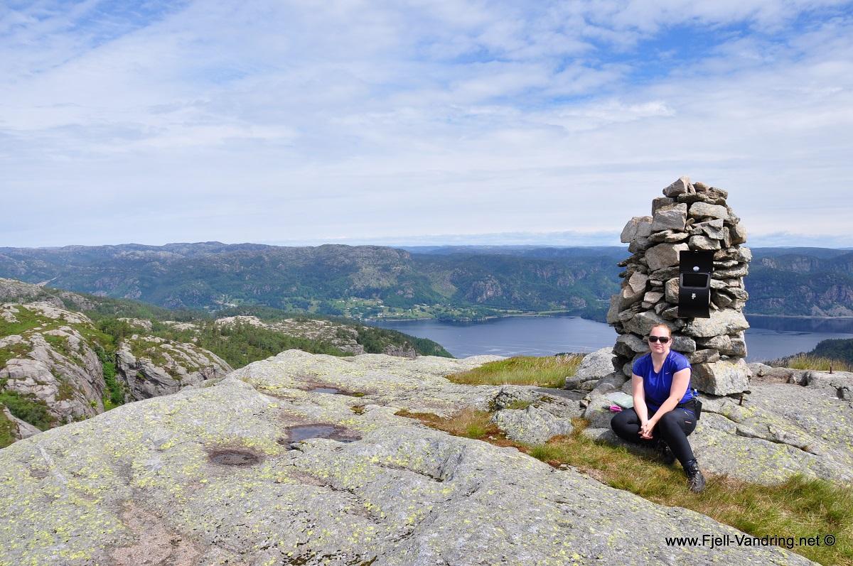Gullbergknuden - Topptur med utsikt