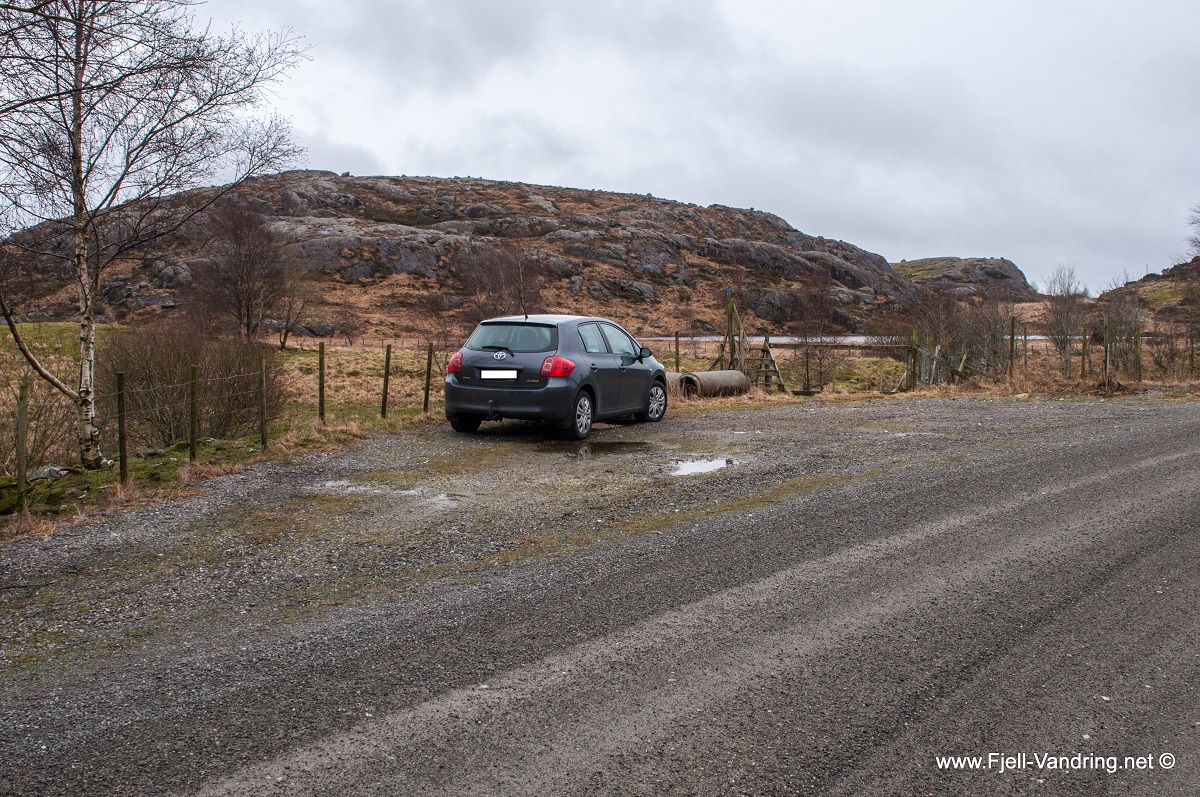Homsevatnet - Parkering