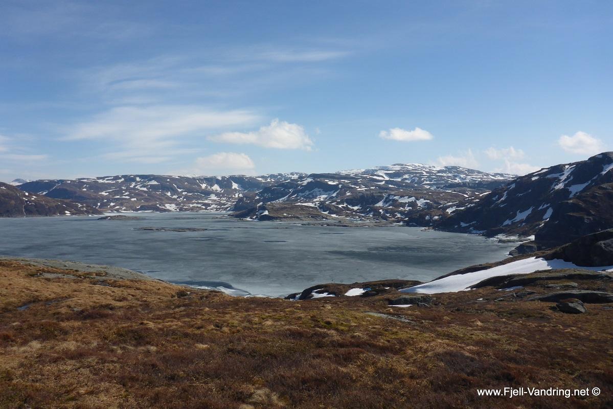 Løkjelsvatnet - Flott utsikt