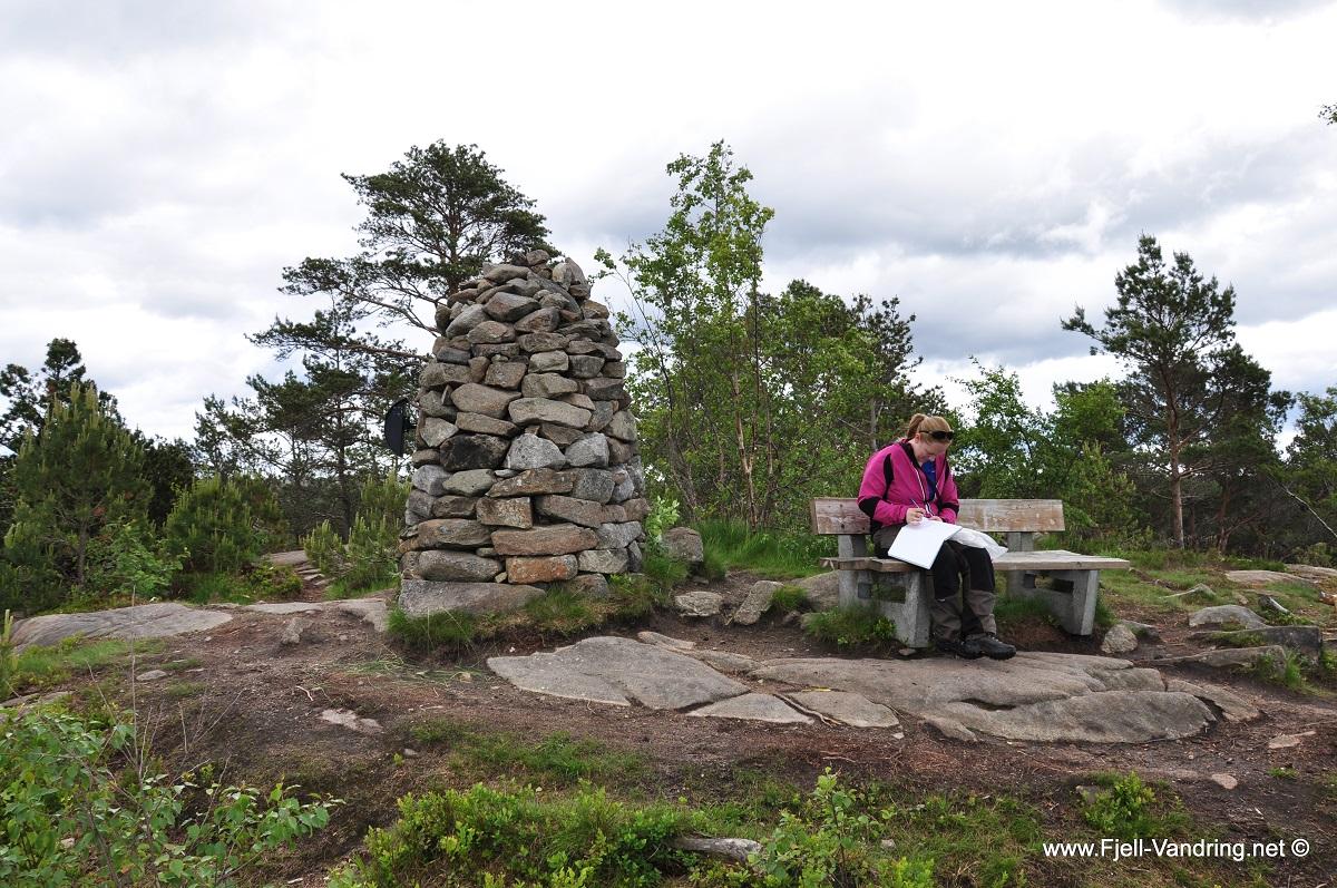 Ravnafjellet og Årstafjellet – Fottur fra Vannbassengane i Eigersund kommune
