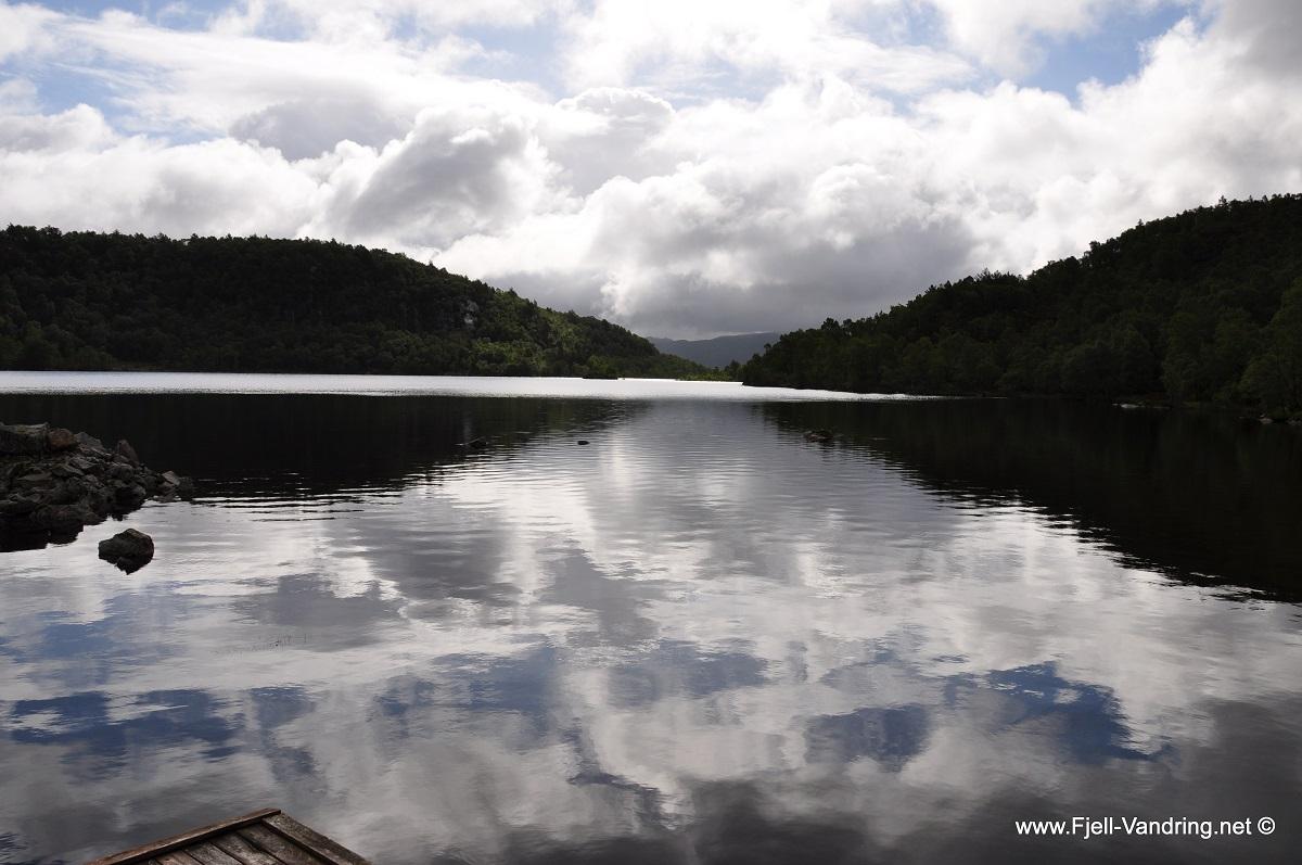 Storaberget - Flott oppe ved Grinavatnet