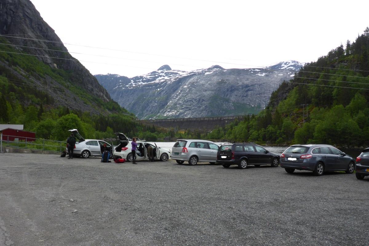 Trolltunga - Parkering