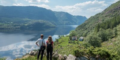 Fjell-Vandring AS - På tur med Stavanger Aftenblad til Dyrskog