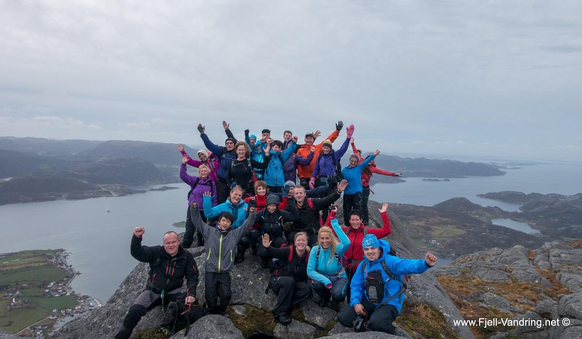 Bergefjellet og Vikastakken - Utsiktsrik topptur