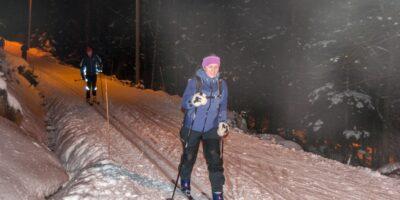 Brekko friluftsområde - Skitur i Lysløypa
