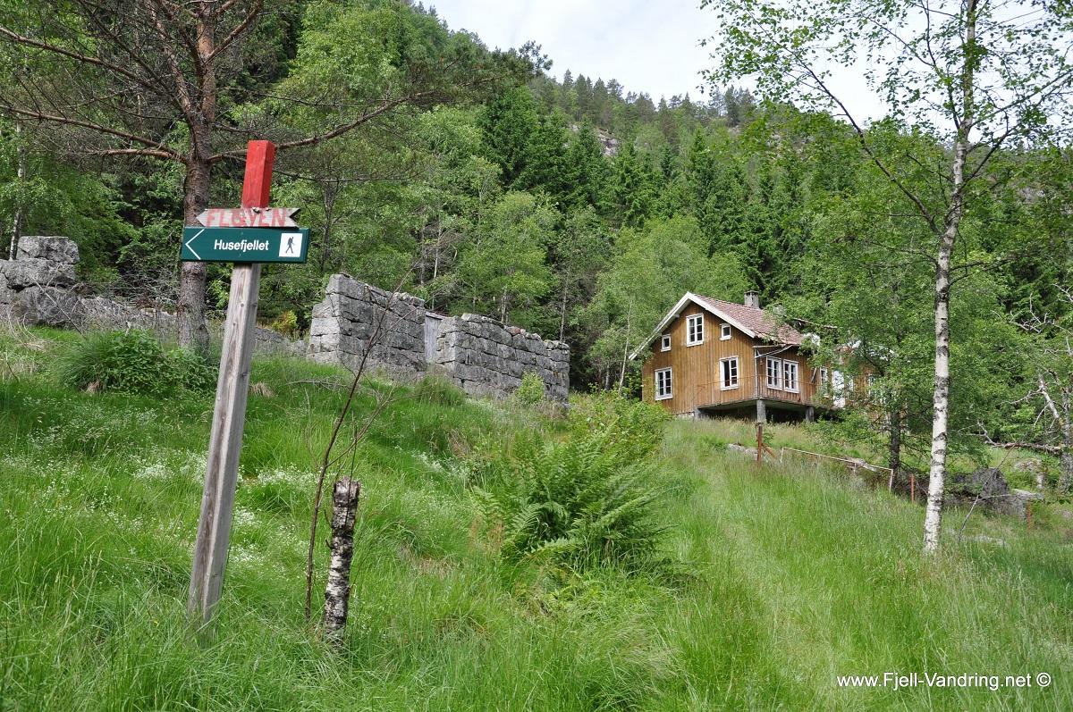 Bringedal - Lettgått fottur fra Tronvik i Lund kommune