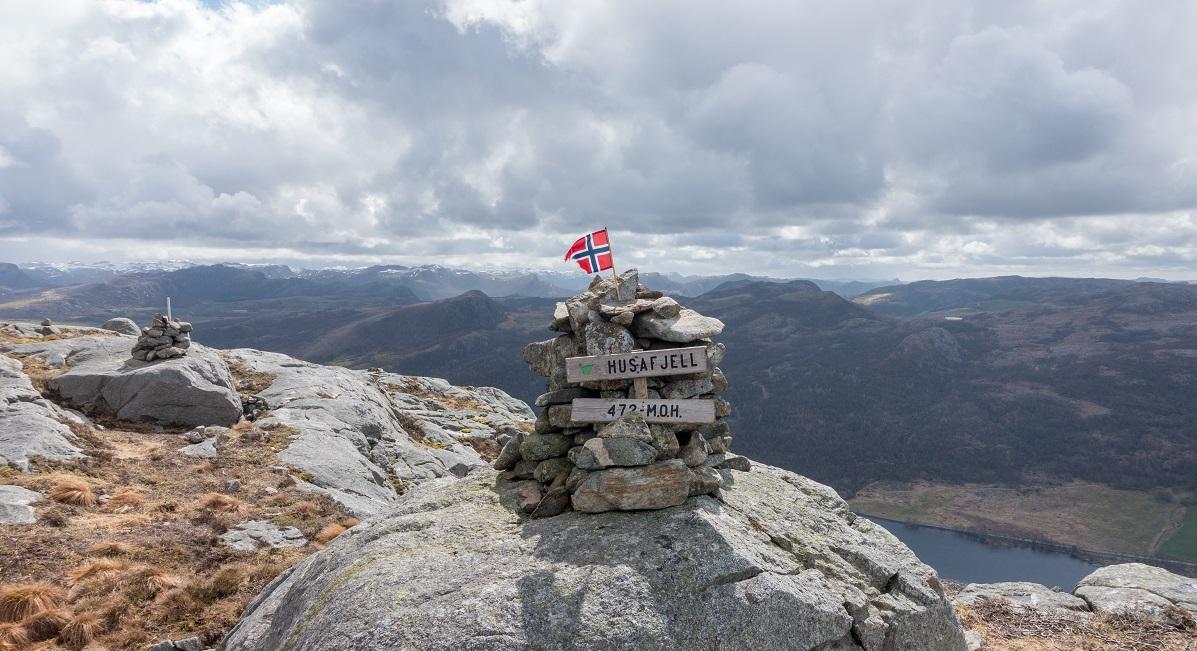 Dyrafjellet – Husafjellet, Nonsknuten og Bukkaknuten i en rundtur (Sandnes kommune)