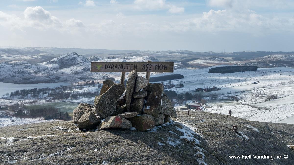 Dyranuten - Topptur via Voren i Sandnes kommune