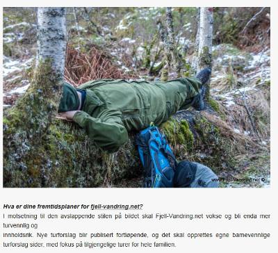 Fjell-Vandring AS omtalt på Expedia