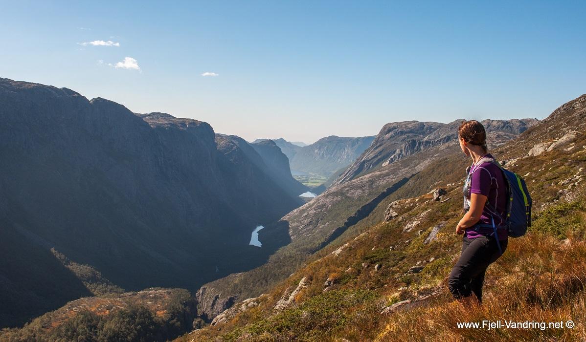 Fossjuvet - Rundtur fra Vinddalen til Røssdalen