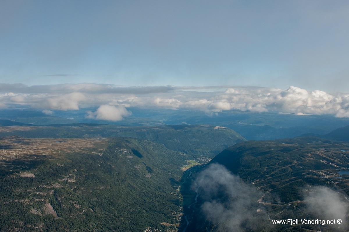 Gaustatoppen - Utsikt fra toppen