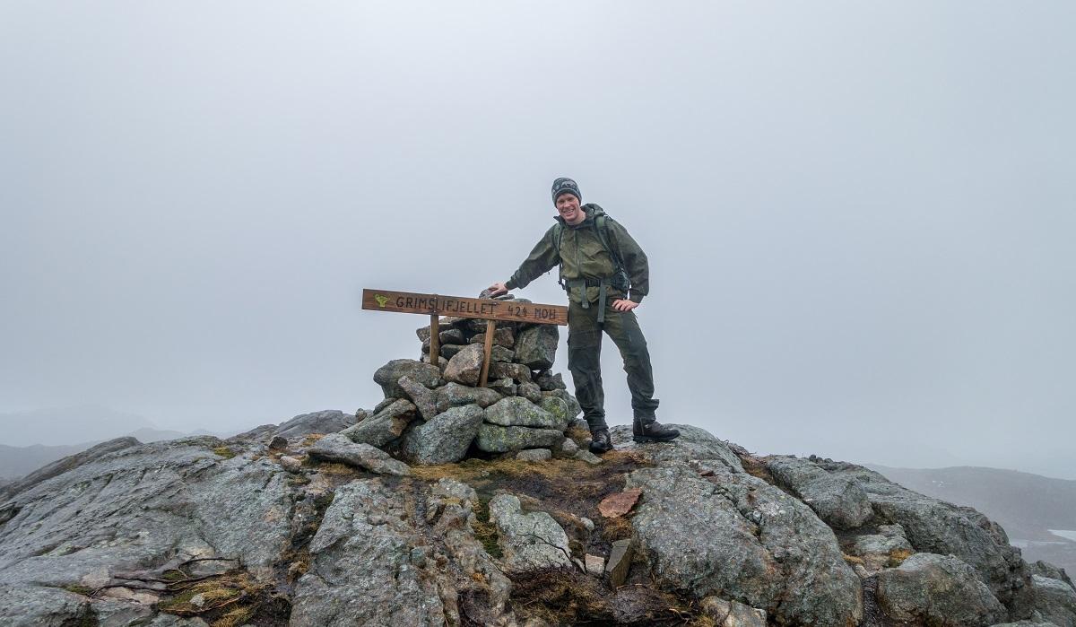 Grimslifjellet - Topptur i et nakent hei og fjellandskap