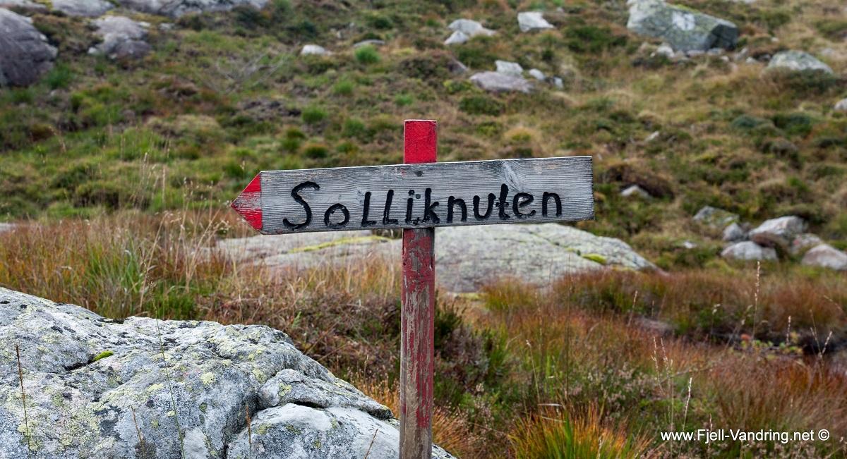 Grønhaug og Solliknuden - Vi fortsetter til Solliknuden