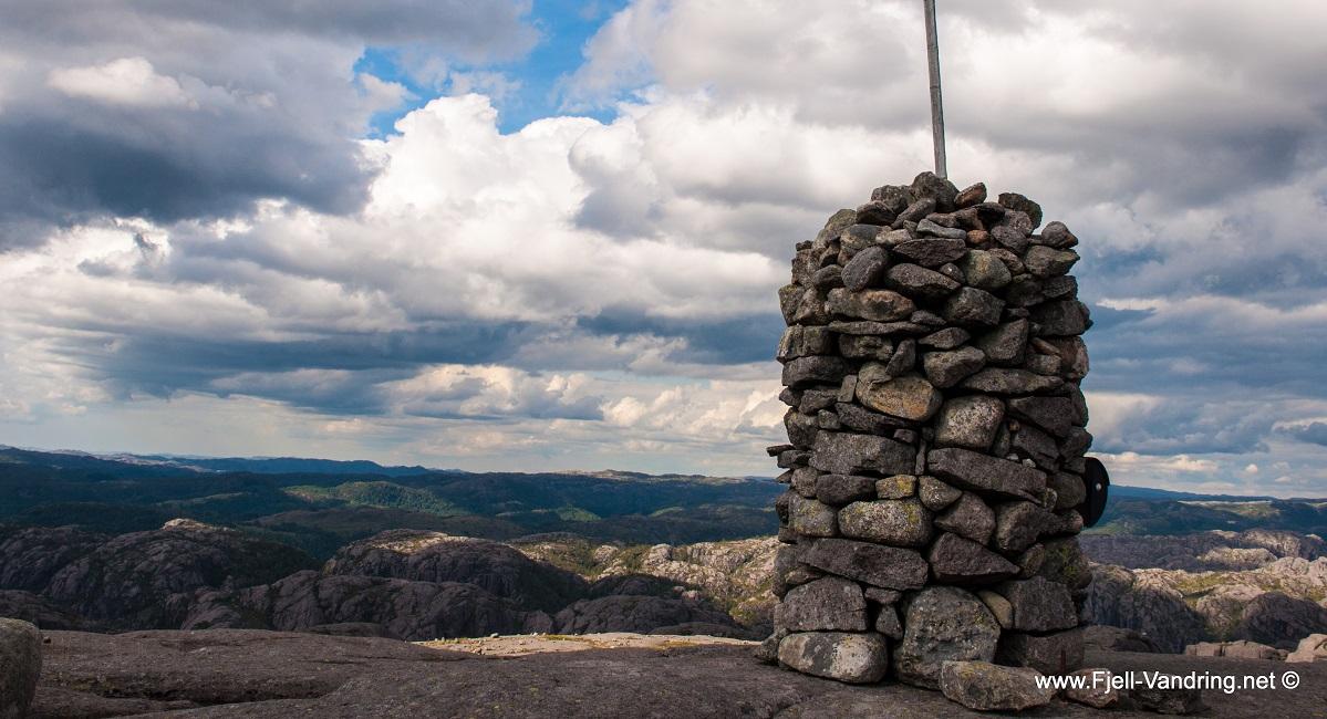 Hellersheia - Topptur fra Jøssingfjorden