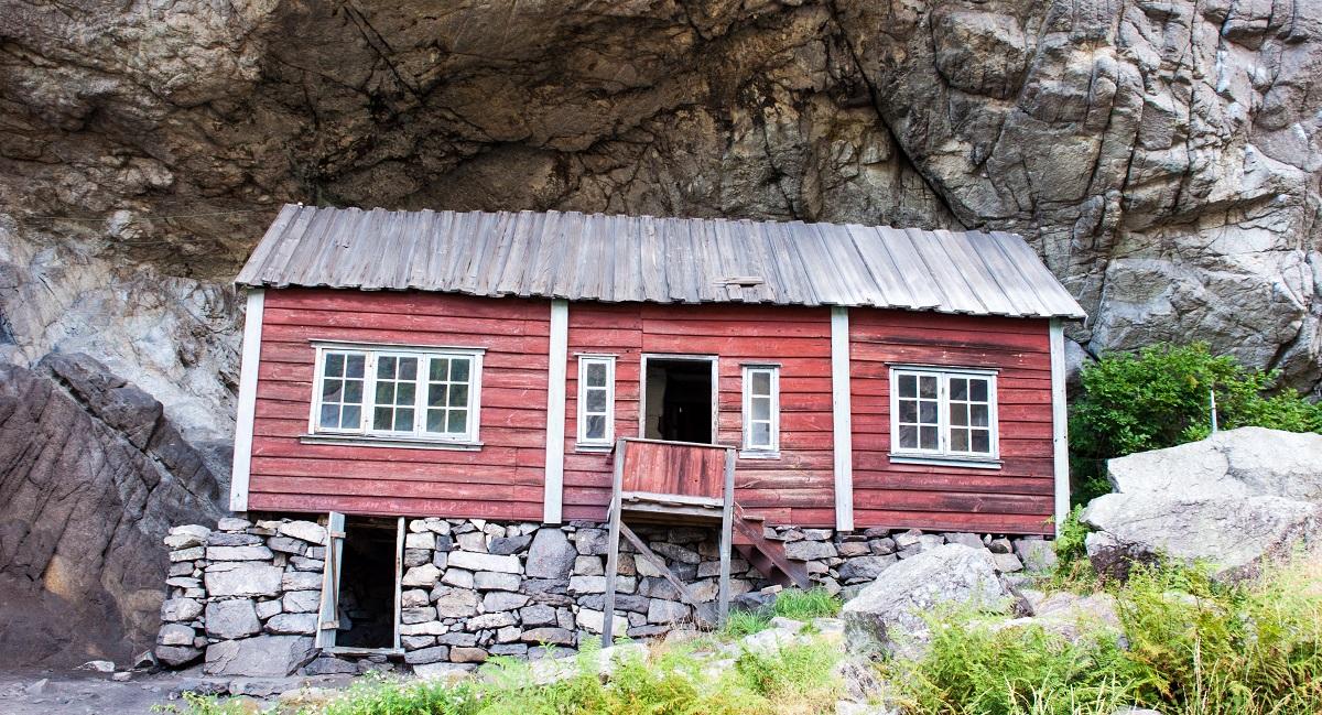 Hellersheia - Helleren i Jøssingfjord