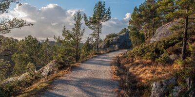 Jærkysten - Det gamle jernbanesporet