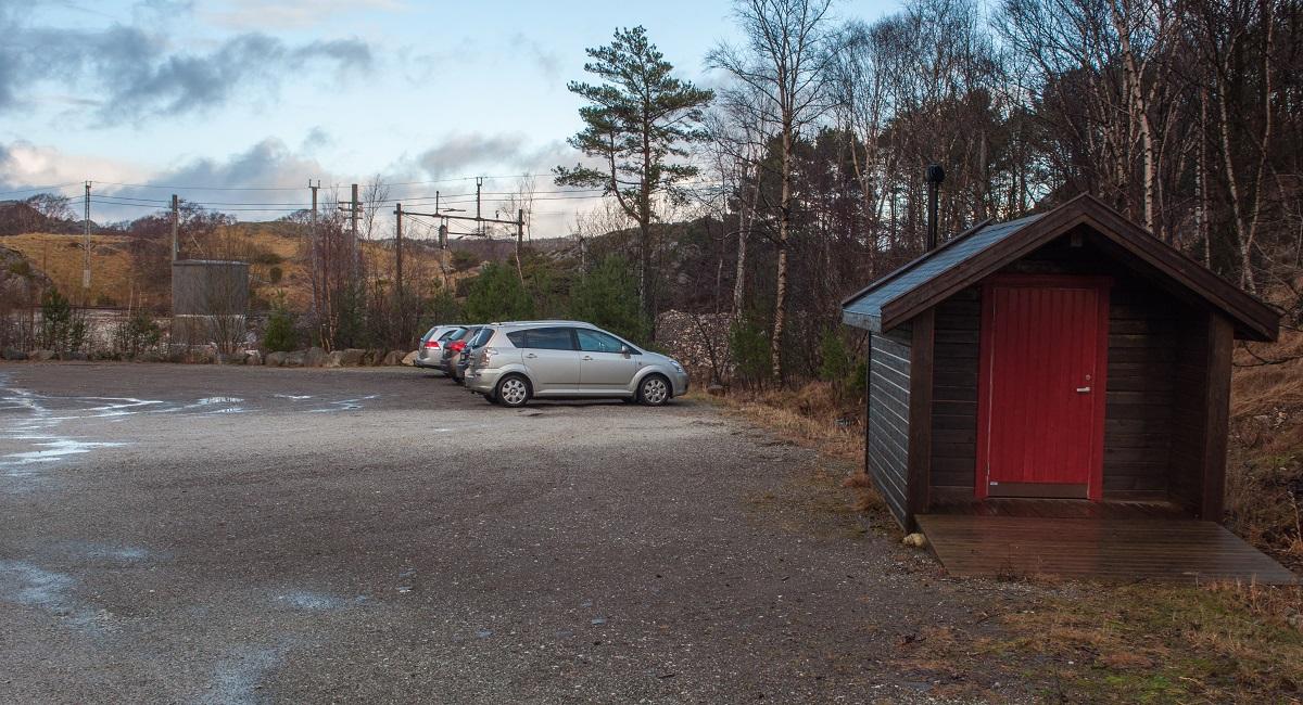 Jærkysten - Parkering Hellvik