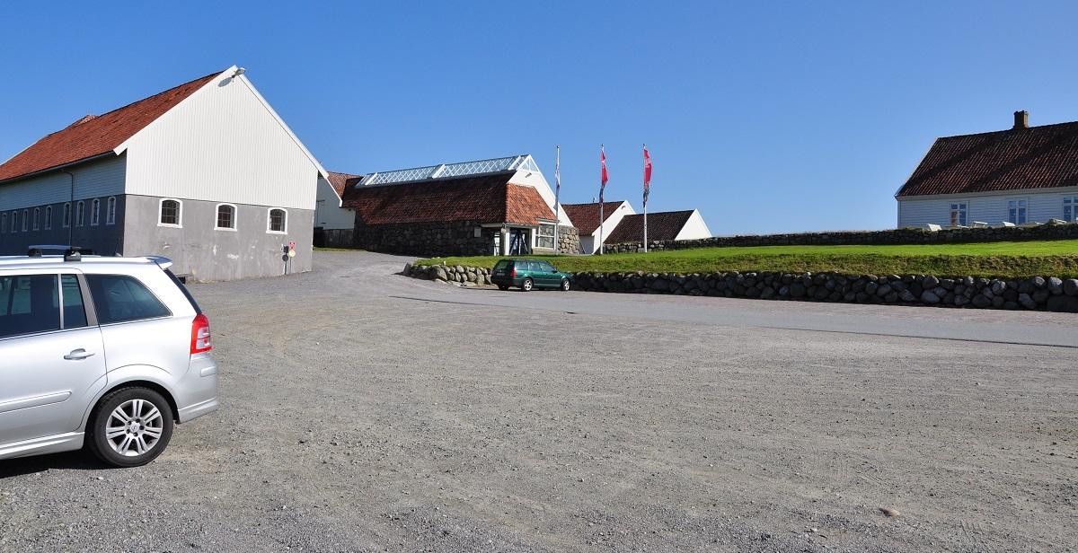 Jærkysten - Parkering ved Hå Gamle Prestegård