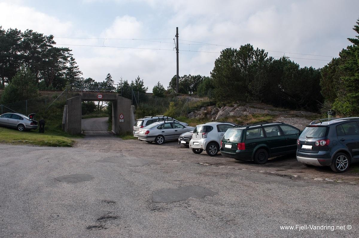 Jærkysten - Parkering ved Svingen Grill
