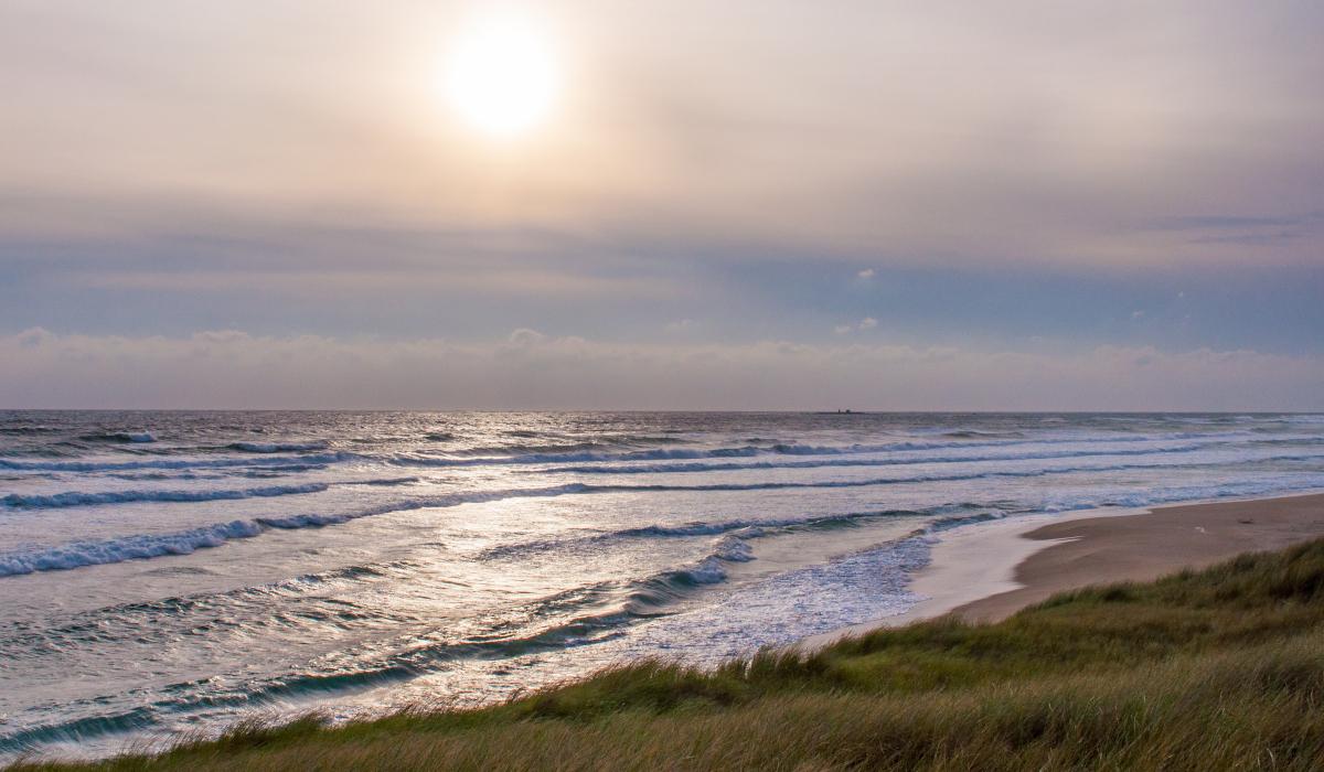 Jærkysten - Sandstrender så langt øye kan se!