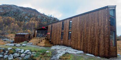 Kvitlen Turistforeningshytte - Tur fra Bjordal
