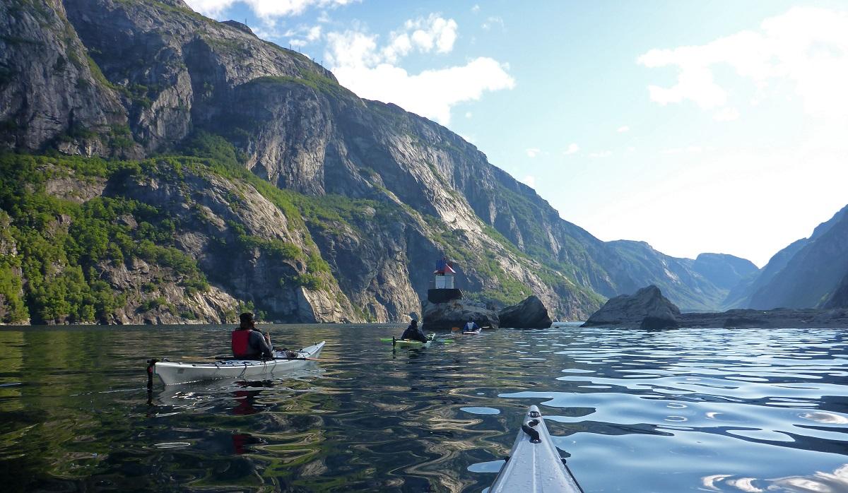 Lysefjorden - En eventyrreise i kajakk
