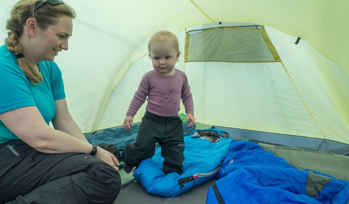 Madlandsheia - Marikken på telttur