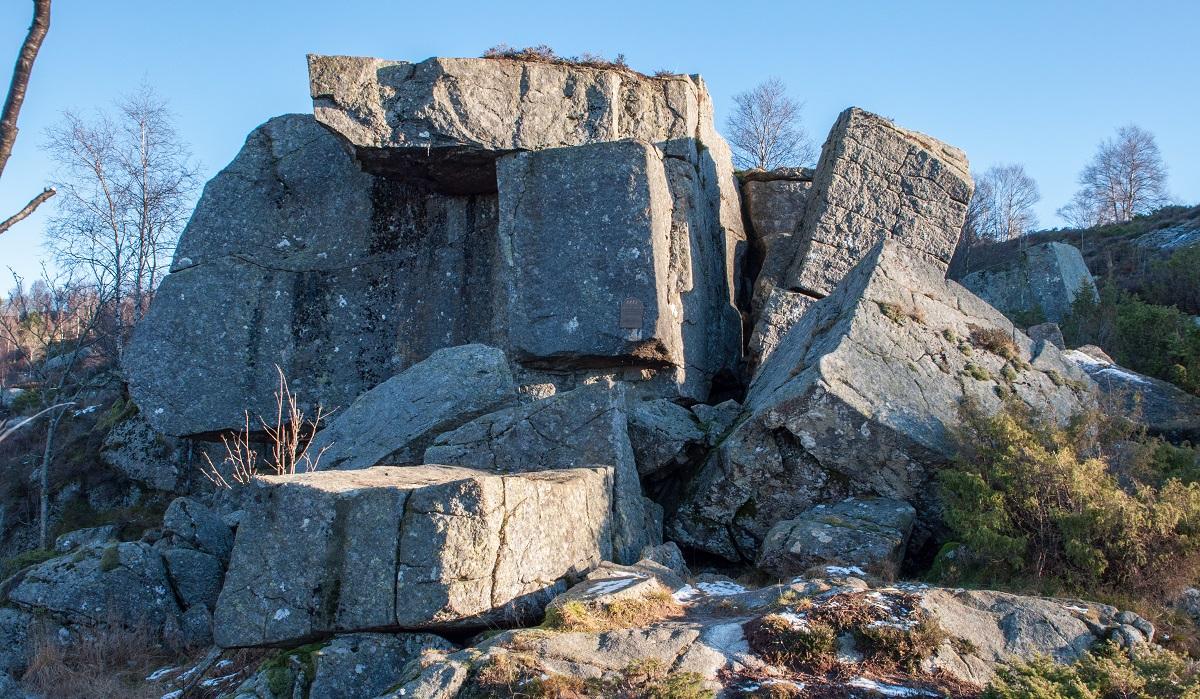 Mysinghåla - Rundtur langs deler av motstandsfolkets rute
