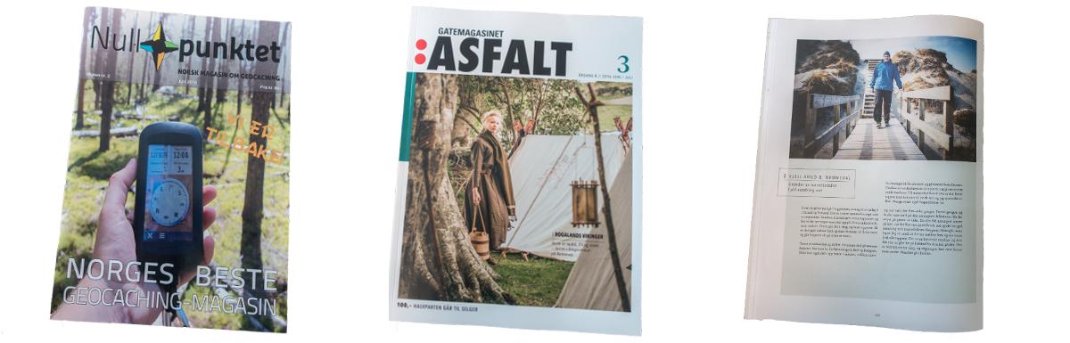 Fjell-Vandring AS - Omtalt i magasinene Nullpunktet og Asfalt