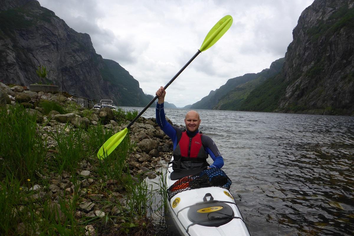 Ørsdalsvatnet - En padlevei unnagjort!