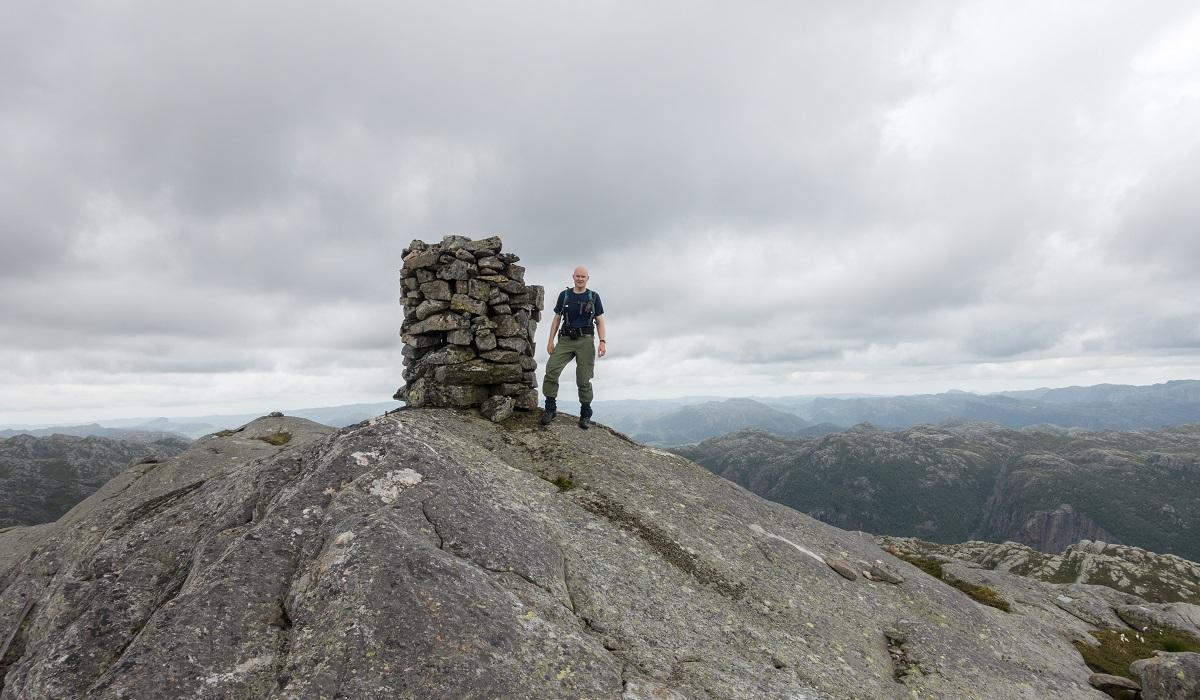 Rambjørheia - Tur fra Hegelstad til Austrumdal