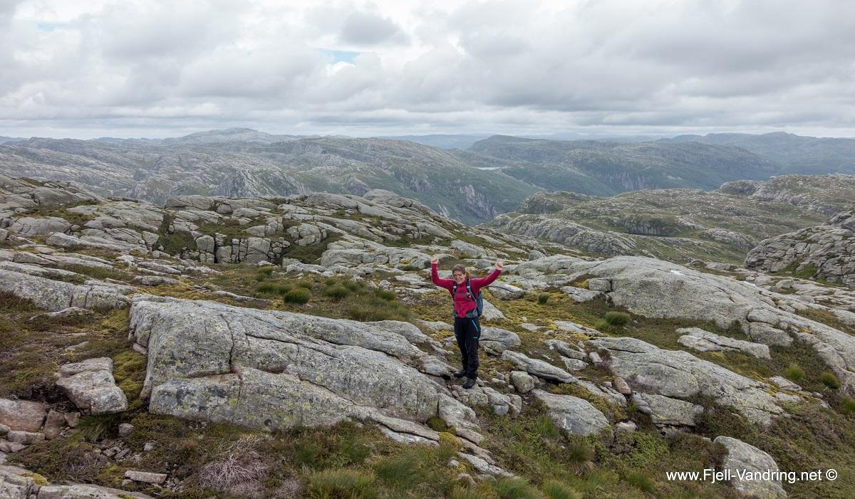 Rambjørheia - Vi er oppe - for en utsikt