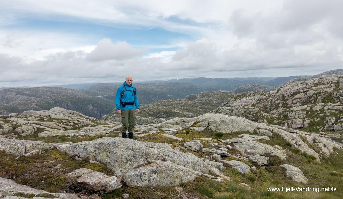 Rambjørheia - Topptur med vid utsikt