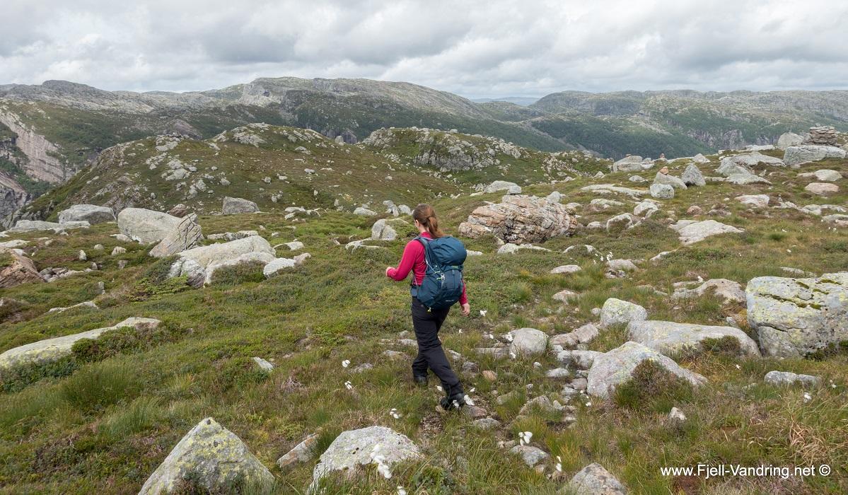 Rambjørheia - Vi fortsetter ned mot Austrumdal