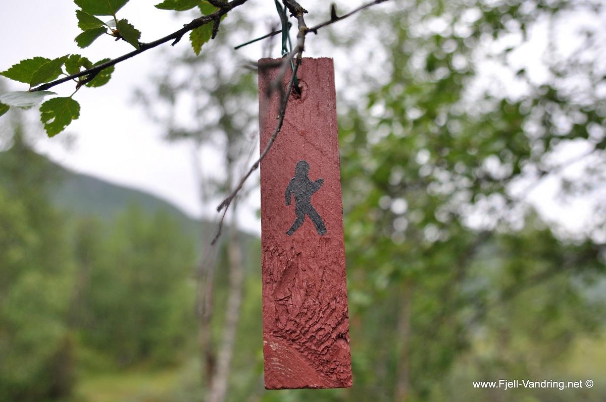 Vemork - Merket fottur fra Rjukan fjellstue