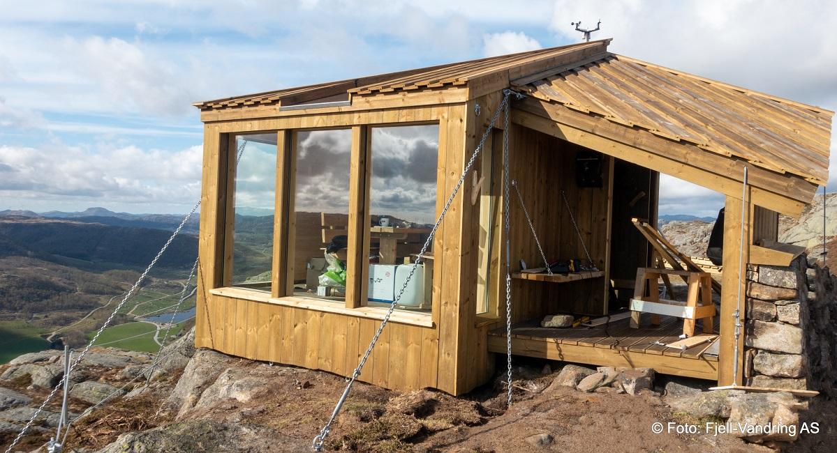 Storafjellet - Topptur til gapahuken fra Vikeså
