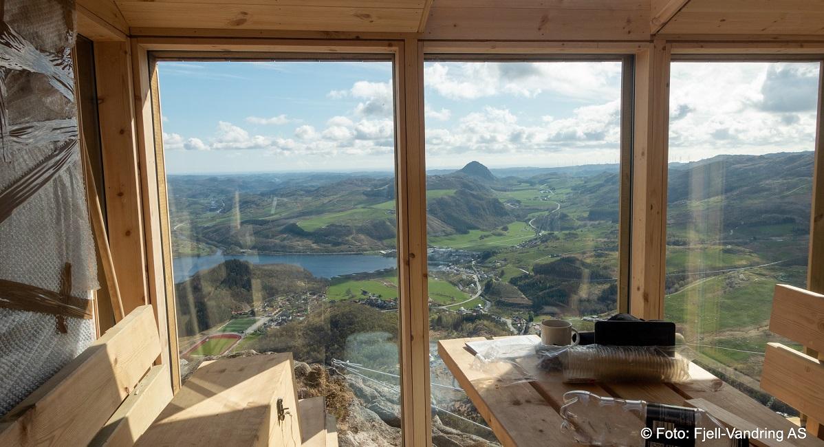 Storafjellet - Utsikt fra gapahuken